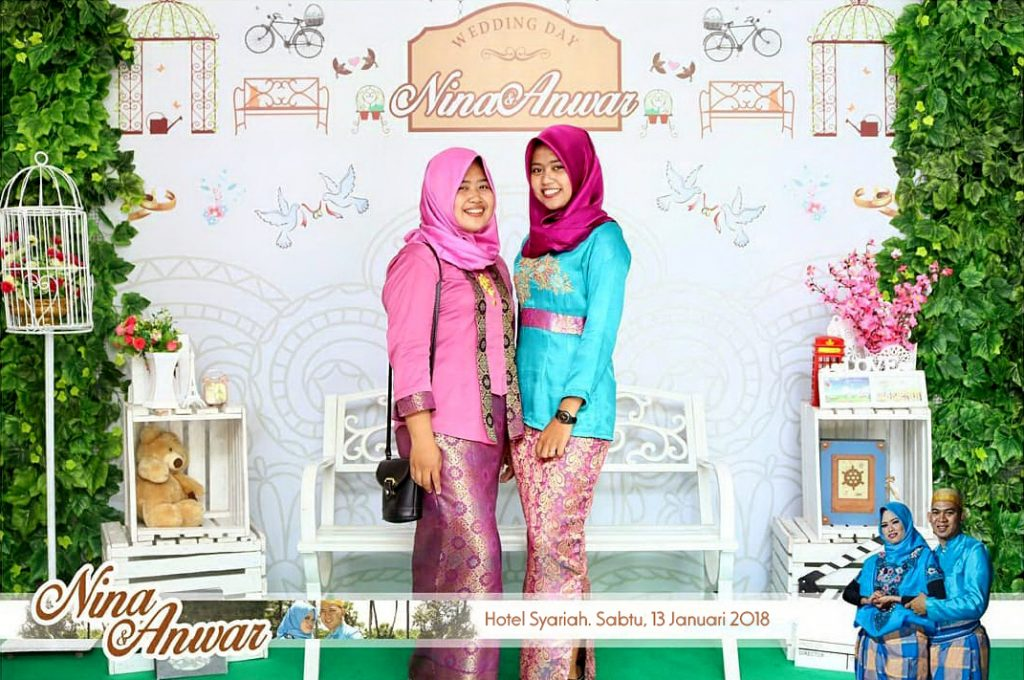 photo booth wedding karanganyar
