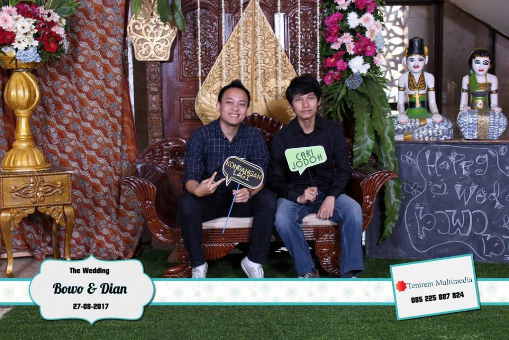 photo booth wedding wonogiri