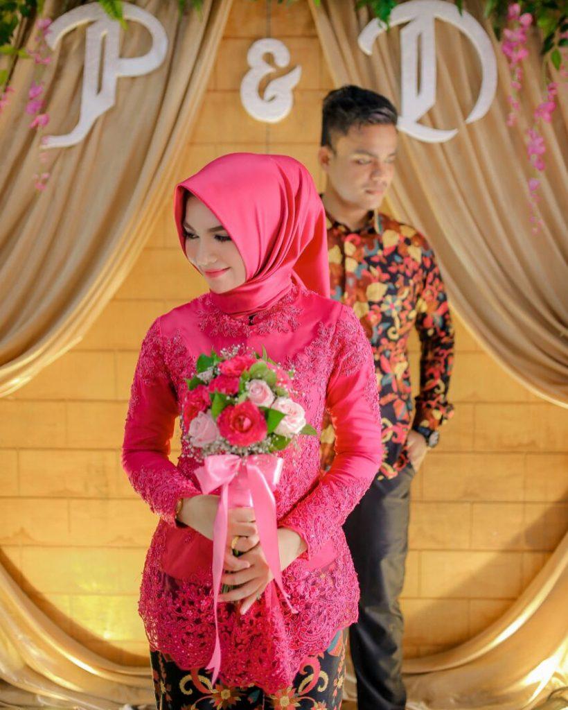 kebaya gaun pengantin muslim